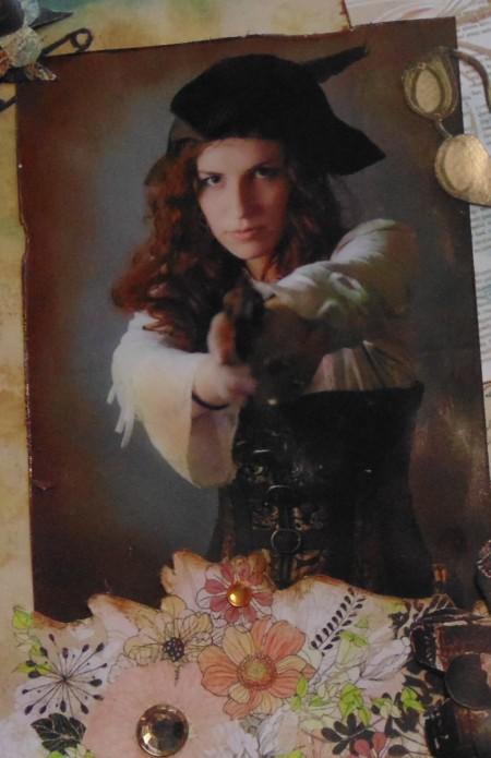 ellana scrap portrait about pirate