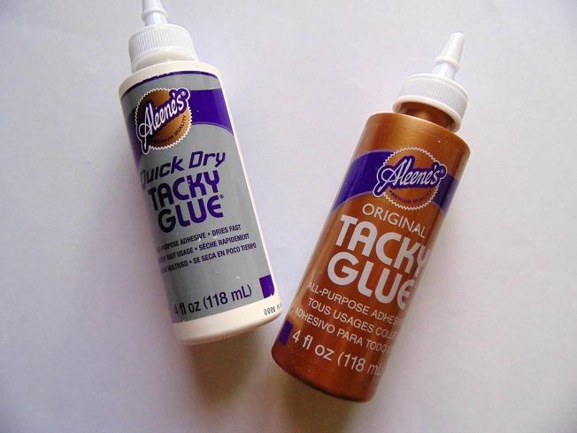 Haul Boit'à créer ellana scrap tacky glue aleene's