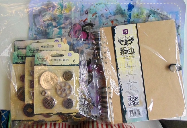 version scrap 2015 paris ellana scrap scrapbooking mixed media atelier finnabair black beauty journal kit