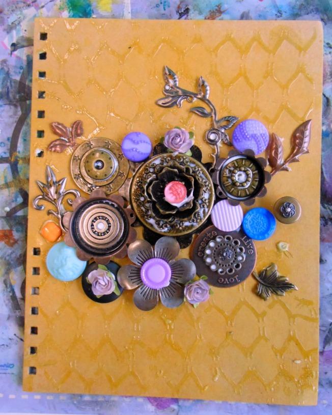 version scrap 2015 paris ellana scrap scrapbooking mixed media atelier finnabair black beauty journal work in progress wip