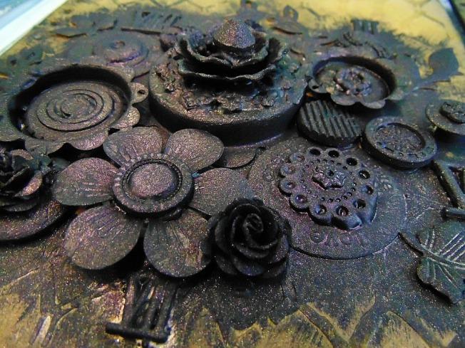 version scrap 2015 paris ellana scrap scrapbooking mixed media atelier finnabair black beauty journal finish
