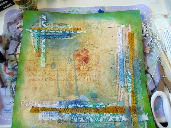 version scrap 2015 paris ellana scrap scrapbooking atelier finnabair encrage work in progress wip colorology