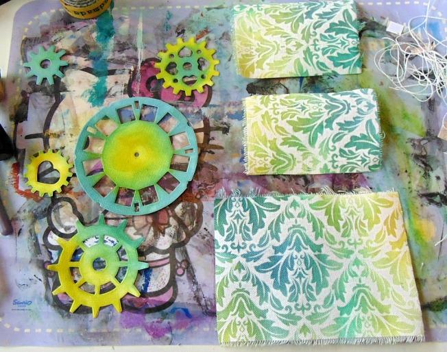 version scrap 2015 paris ellana scrap scrapbooking atelier finnabair work in progress wip colorology
