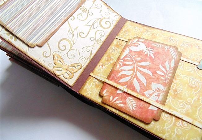 ellana scrap album shabby chic ellanascrap scrapbooking page photo
