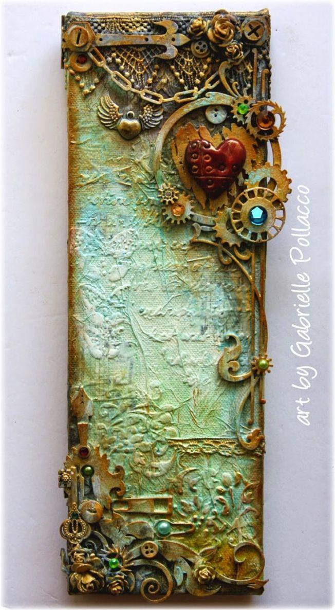 gabrielle pollacco canvas toile steampunk