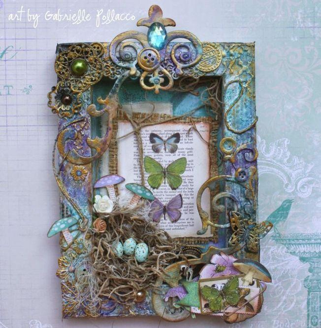 gabrielle pollacco altered frame cadre altéré papillon butterfly