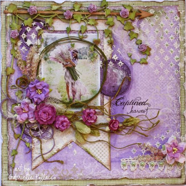 gabrielle pollacco layout page captured harvest