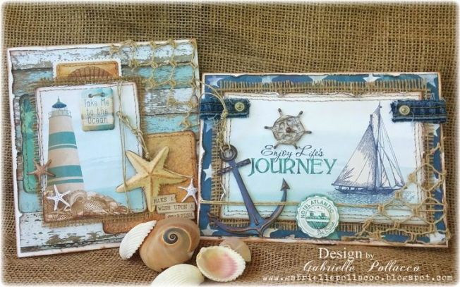 gabrielle pollacco cards cartes journey marine marin
