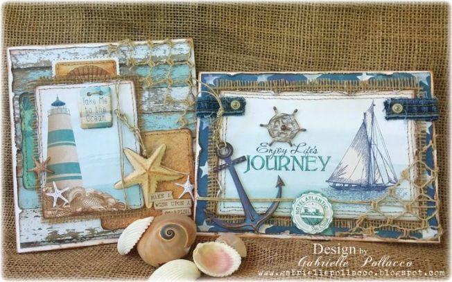 gabrielle pollacco cards cartes journey marine marin