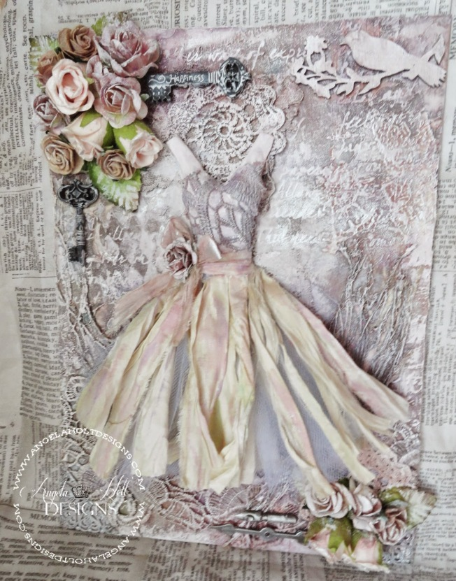 angela holt canvas toile shabby