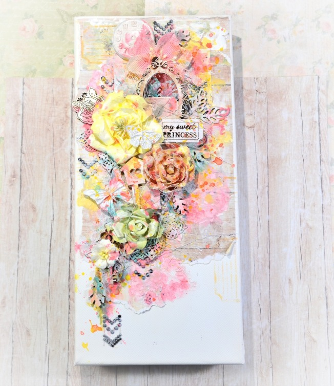 song li design carte card my sweet princess