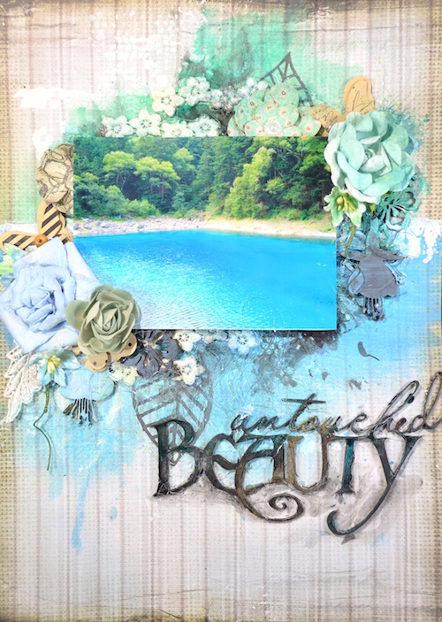 song li design layout page untouched beauty