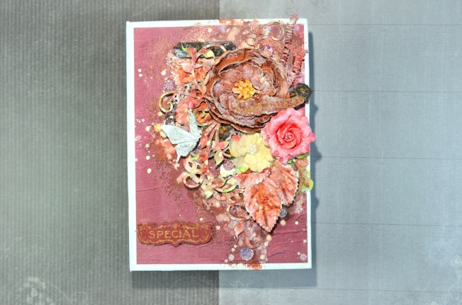 song li design carte card special