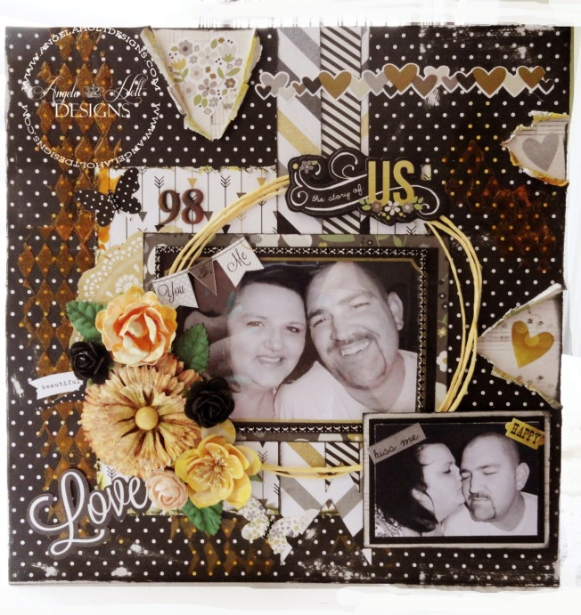 angela holt layout page shabby