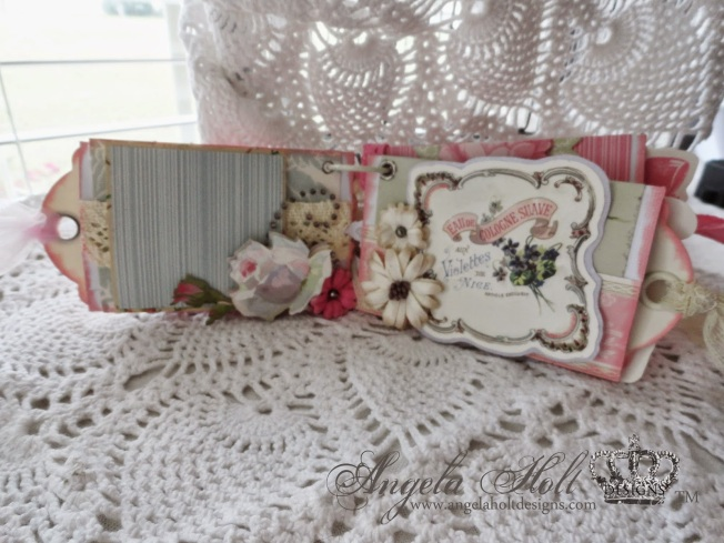angela holt mini album shabby