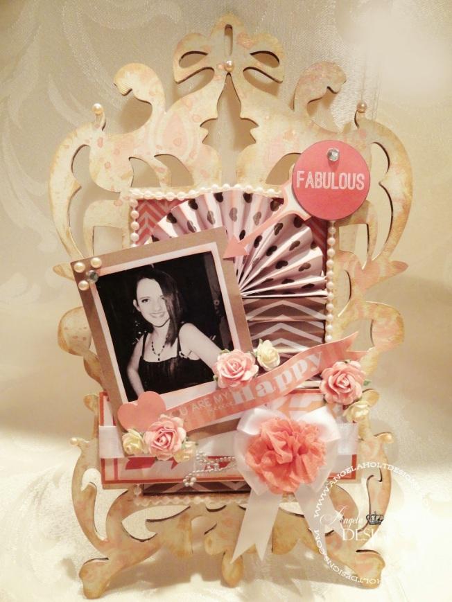 angela holt frame shabby cadre photo