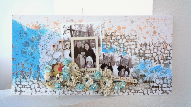 priscilla lim craft delights canvas toile our family