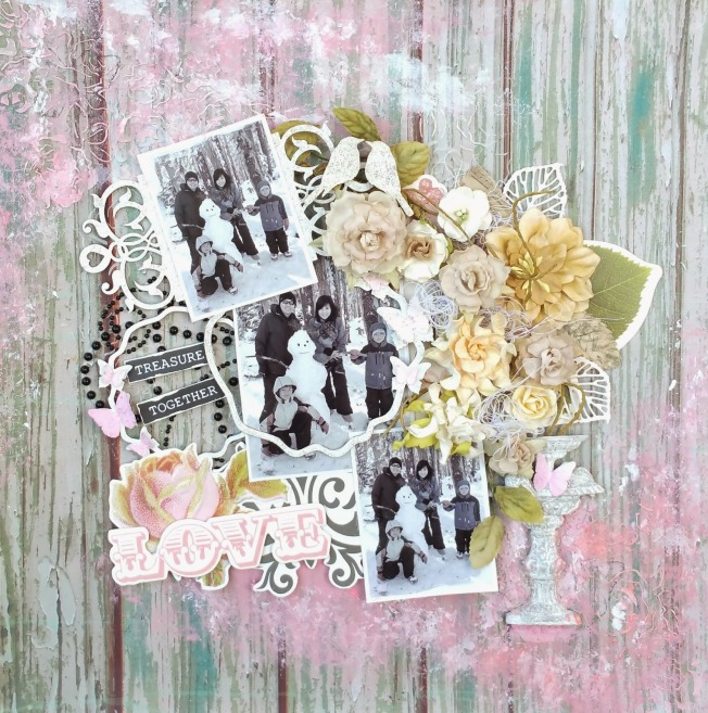 priscilla lim craft delights page layout treasure together