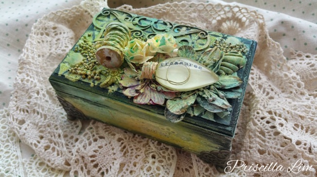 priscilla lim craft delights boite box mixed media
