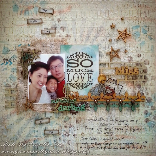 priscilla lim craft delights layout page so much love bliss