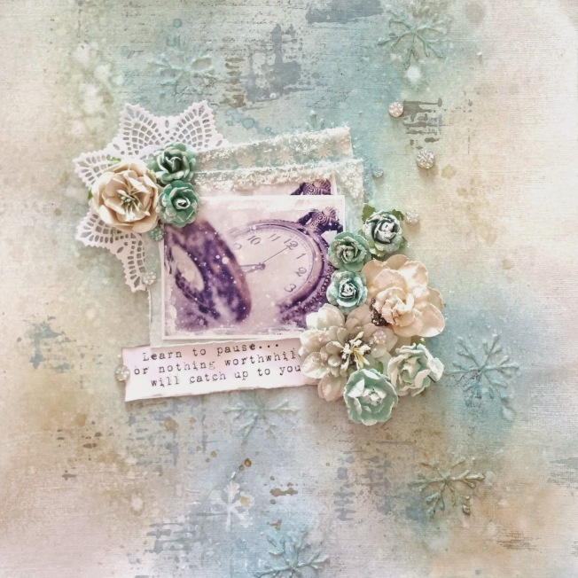 priscilla lim craft delights page layout frozen