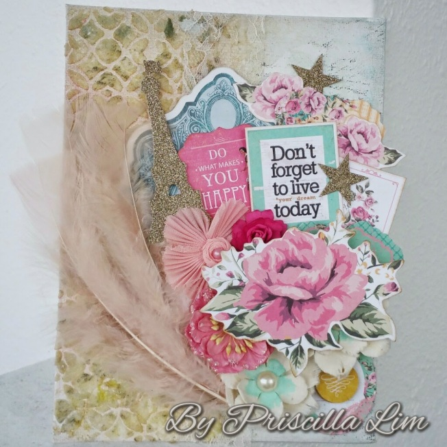 priscilla lim craft delights don't forget to live today