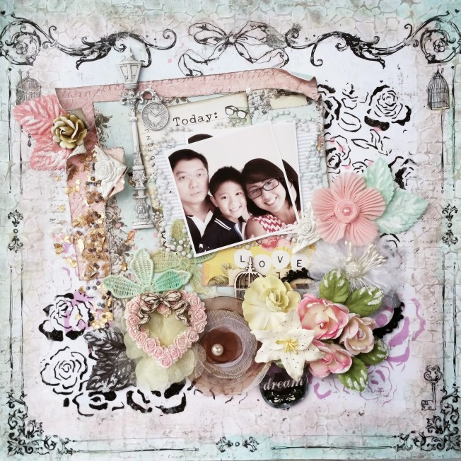 priscilla lim craft delights layout page love today