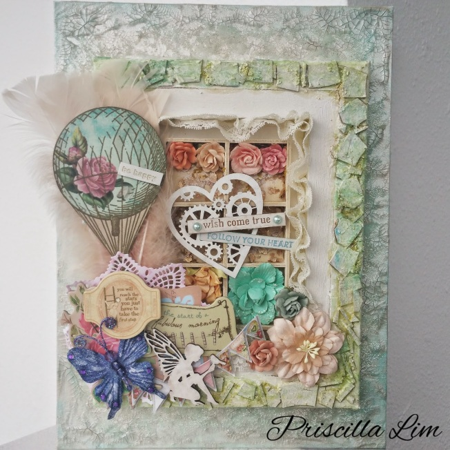 priscilla lim craft delights toile canvas wish come true