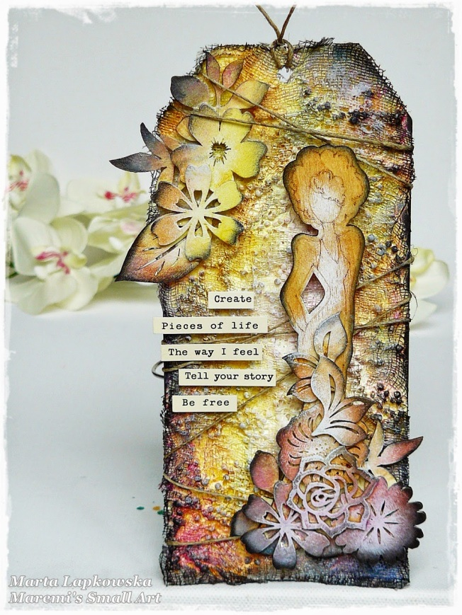 ellana scrap ellanascrap zoom sur marta lapowska maremi's small art mixed media tag