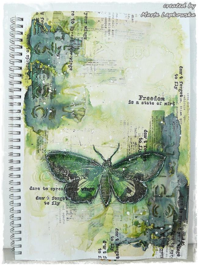 ellana scrap ellanascrap zoom sur marta lapowska maremi's small art couverture cover