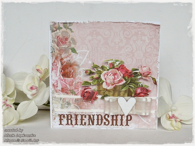 ellana scrap ellanascrap zoom sur marta lapowska maremi's small art card carte friendship