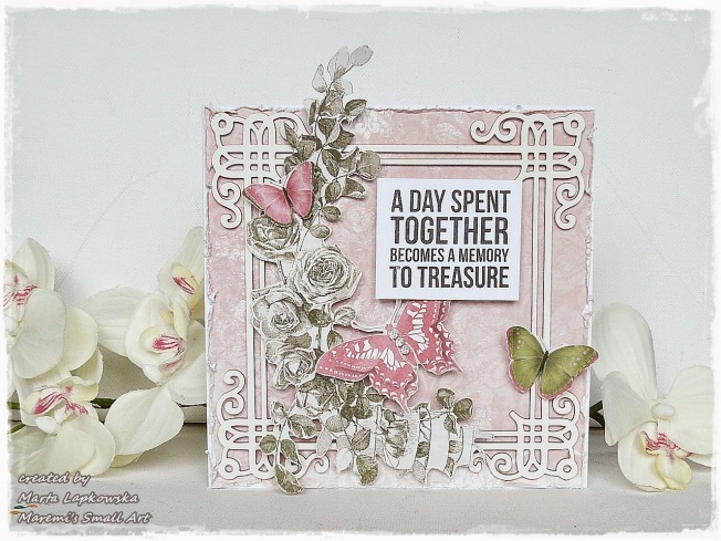 ellana scrap ellanascrap zoom sur marta lapowska maremi's small art carte card a day spent together becomes a memory to treasure