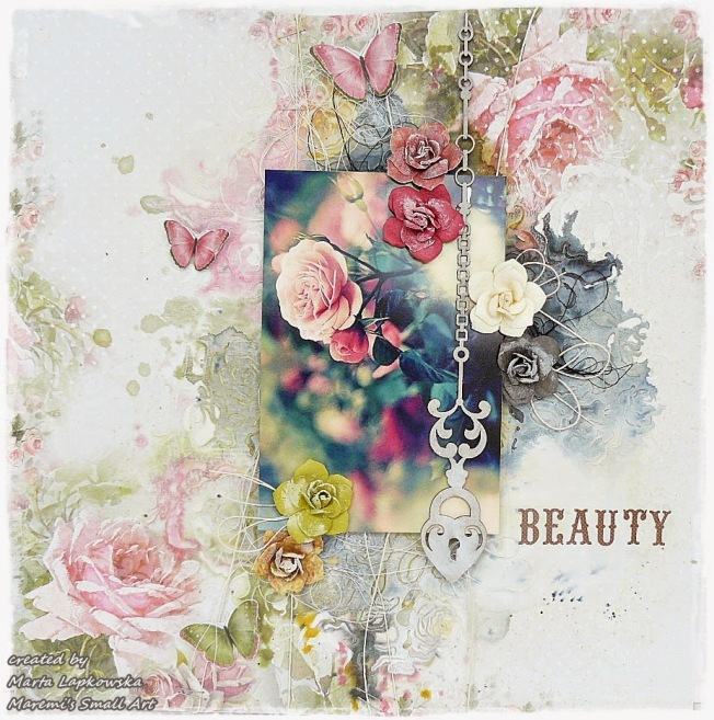 ellana scrap ellanascrap zoom sur marta lapowska maremi's small art beauty page layout