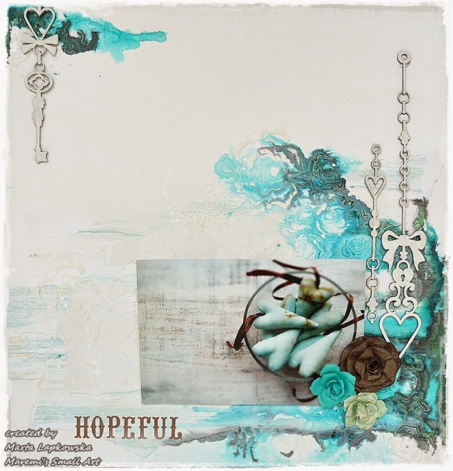 ellana scrap ellanascrap zoom sur marta lapowska maremi's small art page layout hopeful