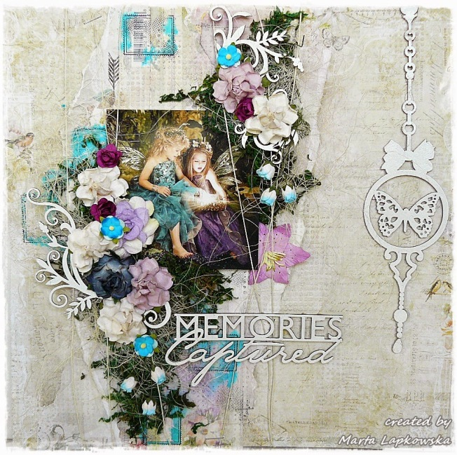 ellana scrap ellanascrap zoom sur marta lapowska maremi's small art page layout memories captured