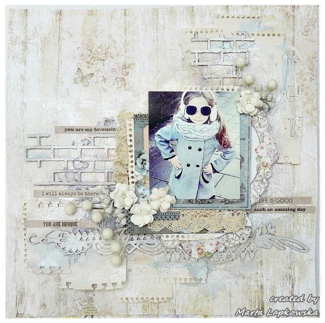 ellana scrap ellanascrap zoom sur marta lapowska maremi's small art page layout blanc white