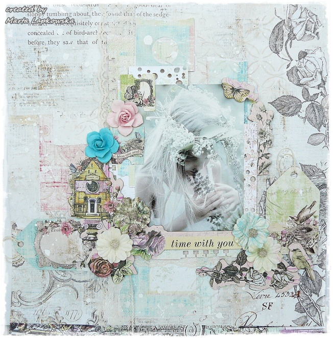 ellana scrap ellanascrap zoom sur marta lapowska maremi's small art page layout time with you