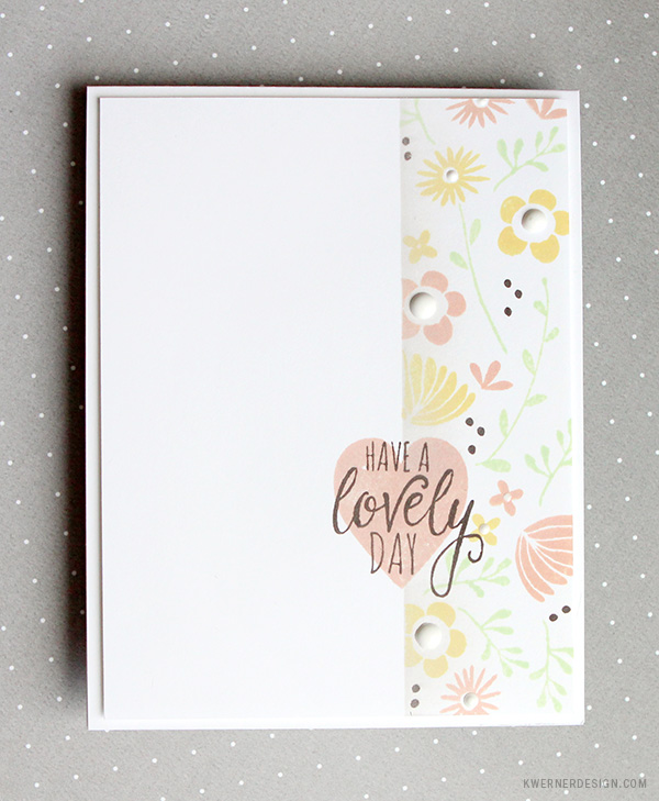 kristina werner design carte card lovely day