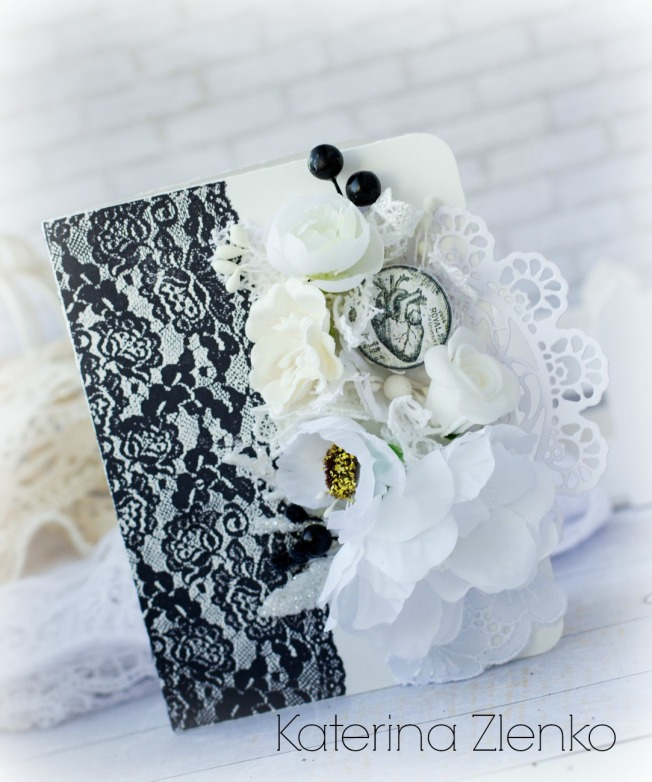 katerina zlenko carte noir blanc dentelle