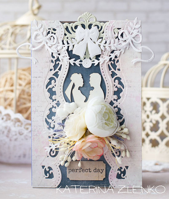 katerina zlenko carte  spellbinders challenge perfect day