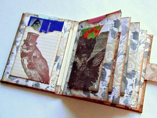 Porte-carte-steampunk-vintage-intérieur-hibou-femme