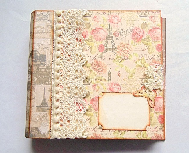 album sweet paris total vintage shabby album photo