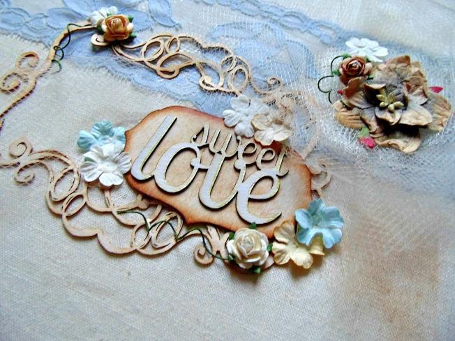 couverture sweet love embellissement bois wycinanka