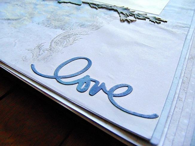 Mariage love bleu amour